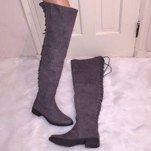 Arnella WC Flat Boots (Grey)